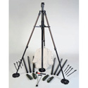 Will-Burt 714042414 24 Foot Ranger Pack - Lightweight Mast System without Backpack - 50lb/23kg Payload Capacity - Black