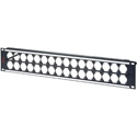 AVP WKM-US216E2-Z-B81 2RU Maxxum Panel Accepts 32 Single D Modules MIS - 2x6 Inch Bars