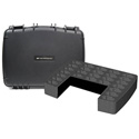 Williams AV CCS Large Water Resistant Carry Case w/ 26 Slot Foam Insert for PPA T46 Transmitter & Body-Pack Receivers