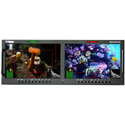 Wohler RM-4210W-3G2 Dual 10.0 Inch Widescreen LCD Video Monitor Dual Input 3G/HD/SD-SDI Composite and HDMI IN/OUT 4RU