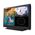 Wohler RMQ-200-3G4-RM 20 Inch LCD Video Monitor 4x Auto-Sensing 3G/HD/SD-SDI CVBS BNC Inputs HDMI Audio/Video Metering