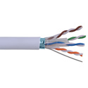 West Penn 4246EZBL1000 Cat 6 Cable 23 Gauge 4 Pair 23AWG UTP CMR - Blue - 1000 Feet