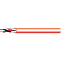 West Penn D991 16 AWG 2 Conductor Fire Alarm Cable (1000 ft.) - Red