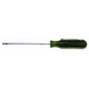 Xcelite R3323V Greenie 3 Inch Round Blade Slotted Pocket Clip Screwdriver