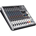 Behringer X1222USB XENYX 12-Input 2/2-Bus Mixer With XENYX Mic Preamps