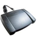 X-Keys XK-3 USB Foot Pedal (Rear Hinged) for Windows or Mac