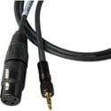Sony Style Wireless Locking TRS Mini to XLR Female Cable 3 Feet