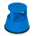 Xtend & Climb Stable Stool 969 Rolling Plastic Step Stool - Blue