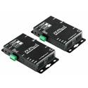 Zigen ZIG-HVX-100 100 Meter HDbaseT 4K HDMI Over CAT5a/6/7 ARC/4K/Audio/IR/RS232/3D