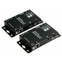 Zigen ZIG-HVX-70 70 Meter HDbaseT HDMI Over CAT5a/6/7 Extender Set - ARC/4K/Audio/IR/RS232/3D