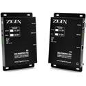 Zigen ZIG-POEPRO-70A 4K/60Hz 18G Extender Set - 48V POE Bi-Directional IR & RS232 supports ARC & HDR-10