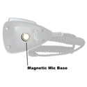 Attero Tech Zip4 Magnetic Mic Base Replaces the Mechanical Mic Clip on the Zip4 for Zip4 PTT Mic - Magnetic