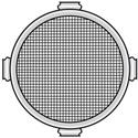 Photo of  Lowel O1-19 Omni-Light Protective Screens for VIP lights