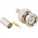 Amphenol 031-320-RFX BNC Crimp Plug for RG-58 - 50 Ohm