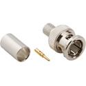 Amphenol 031-71064 BNC 75ohm RG6 Type Crimp Plug