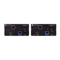 Atlona 100CER-PoE-EXT 4K/UHD HDMI Over 100M HDBaseT Transmitter/Reciever Extender Kit with Ethernet Control and PoE