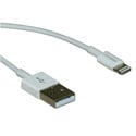 10LT-03-WH MFi Certified Lightning Cable to USB Cable - White - 3 Feet