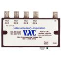 VAC 11-111-104 Unity Gain 1x4 Composite Video DA with BNCs