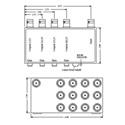 VAC 11-114-112 1x12 Composite Video DA