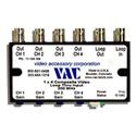 VAC 11-134-104 Composite Video DA 4 Output 1 Layer