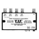 VAC 11-511-104 1x4 Composite Video Distribution Amplifier