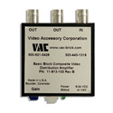 VAC 11-913-102 1x2 Composite Video DA with STD Input and Variable Gain