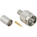 Amphenol 122465 Male 75 Ohm TNC Crimp Connector for Belden 9248 & 1694A