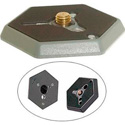 Bogen 130-14 Hexagonal QR Mounting Plate 1/4-20 Flush
