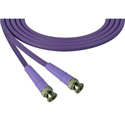 Laird 1505-B-B-15-PE Belden 1505A SDI/HDTV RG59 BNC Cable - 15 Foot Purple
