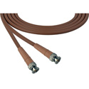 Laird 1505-B-B-18IN-BN Belden 1505A SDI/HDTV RG59 BNC Cable - 18 Inch Brown
