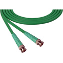 Laird 1505-B-B-18IN-GN Belden 1505A SDI/HDTV RG59 BNC Cable - 18 Inch Green