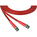 Laird 1505-B-B-18IN-RD Belden 1505A SDI/HDTV RG59 BNC Cable - 18 Inch Red