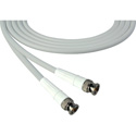 Laird 1505-B-B-18IN-WE Belden 1505A SDI/HDTV RG59 BNC Cable - 18 Inch White