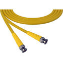 Laird 1505-B-B-18IN-YW Belden 1505A SDI/HDTV RG59 BNC Cable - 18 Inch Yellow