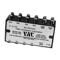 VAC 16-144-404 1x4 Unbal Stereo Audio DA / Line Level / RCA Connectors / 12V AC