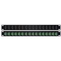 My Custom Shop 16XHD15MTB 16 VGA Male to Terminal Block Patch Panel - 1RU