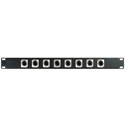 MCS 16XRJ45-YK 1RU 16-Port RJ45 Patch Panel