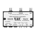 VAC 17-531-122  Composite Video 2 x 1 Automatic Switch