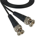 Laird 179DT-B-B-3 Belden 179DT SDI/HDTV RG179 BNC Cable - 3 Foot