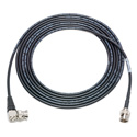 Photo of Laird 1855-B-BRA-3 Belden 1855A SDI/HDTV Sub-Mini RG59 BNC to Right-Angle BNC Cable Black - 3 Foot
