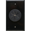 Photo of Midlite 1GBK-GR1 1 GANG Wireport Wall Plate with Grommet- Black