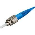 Photo of Senko 215-103-J1 Premium 125um SingleMode ST Fiber Connector with Blue 900u Boot