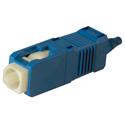 Photo of Senko 254-193-6J1 UPC Premium 125um Single Mode 900um SC Connector - Blue Boot