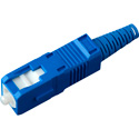 Senko 254-193-6L1 UPC Premium 125um SingleMode 3mm SC Fiber Connector - Blue
