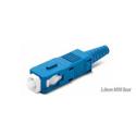 Senko 254-199-6L1 Low Loss 125um Singlemode SC Fiber Connector with Blue 3mm Boot