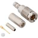 75 Ohm 1.0/2.3 DIN Plug for Belden 179DT Cable