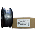 Photo of 3/16 Diameter x 250 Foot 7x19 Black Aircraft Cable
