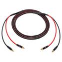 Photo of Sescom 2MRC-R6 Audio Cable Audiophile Unbalanced Single Pair RCA - 6 Foot