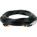 Connectronics Dual RCA Male to Male Audio Cable 100 Foot