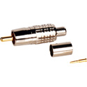 Connectronics Crimp Style RCA Connector for RG59 Coax